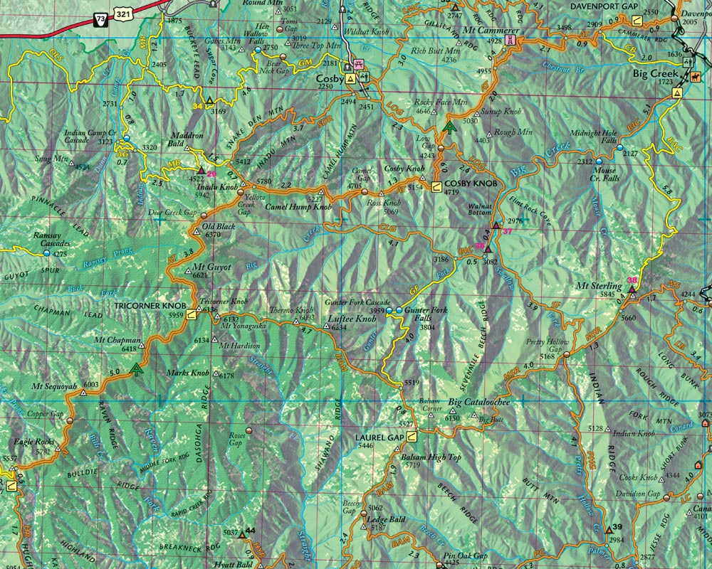 Red River Gorge Topographic Map.Outragegis Mapping Gallery Of Maps