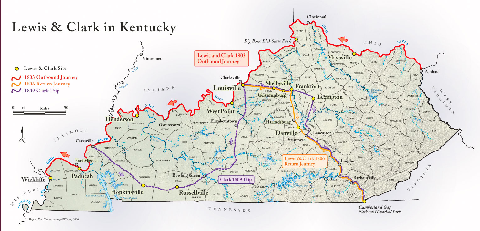 Berea Kentucky Map MAP