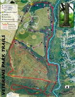 Red River Gorge 3D Trail Map outrageGIS