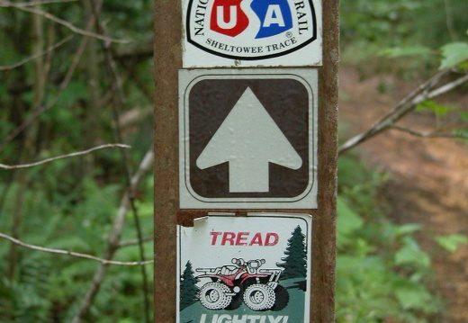 Sheltowee Trail Use