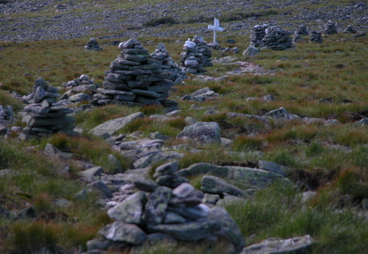 Cairn on Davis Path