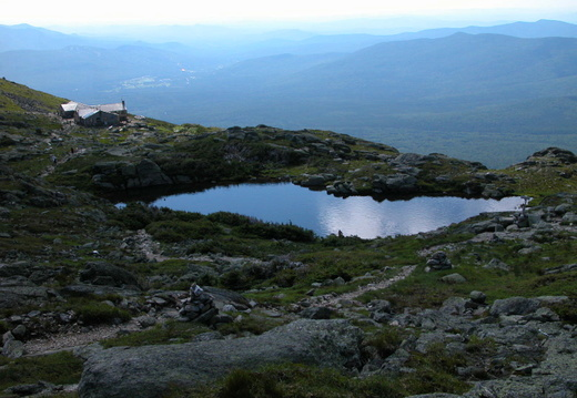 Lakes of Clouds Hut