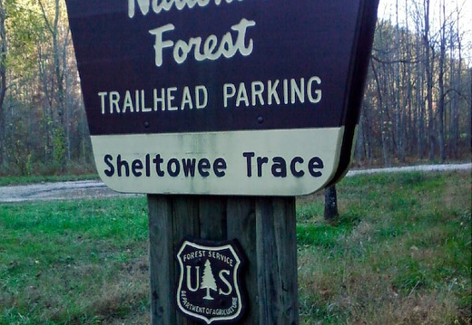 Sheltowee Trace: Northern Terminus
