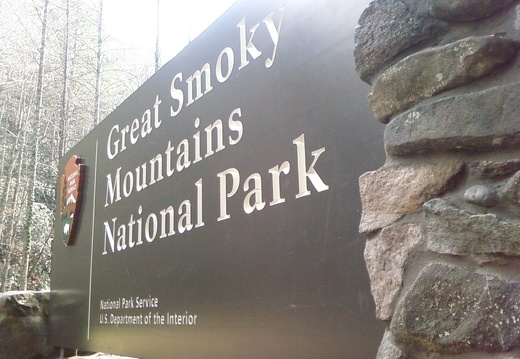 Great Smoky Mountains NP Signage