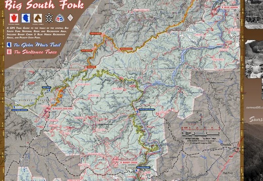 John Muir Trail & Sheltowee Trace in Big South Fork