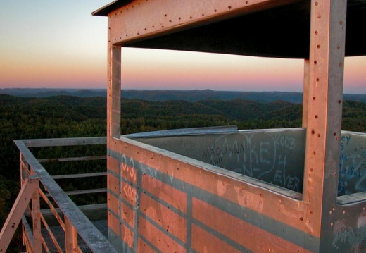 Tater Knob Firetower, RIP Dec. 2008