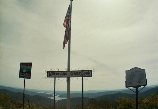 On the way back. Veterans' Overlook, TN