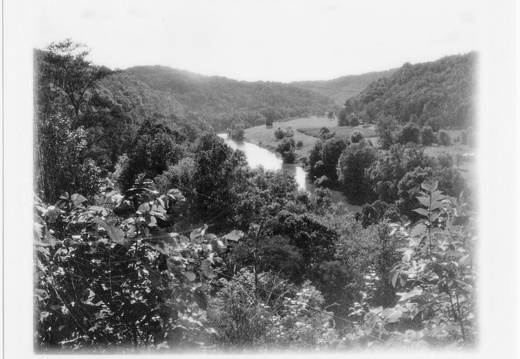 Sheltowee Trace and the Kentucky River