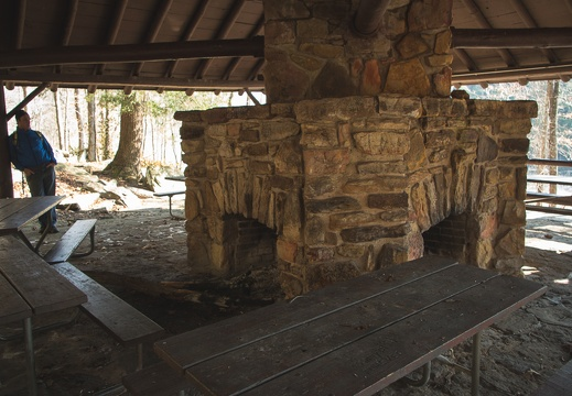 CCC picnic shelter