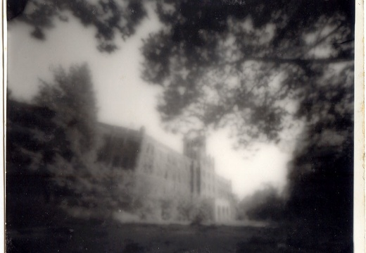 Pinhole camera shot of Louisville Waverly Hills Sanitorium, 1991