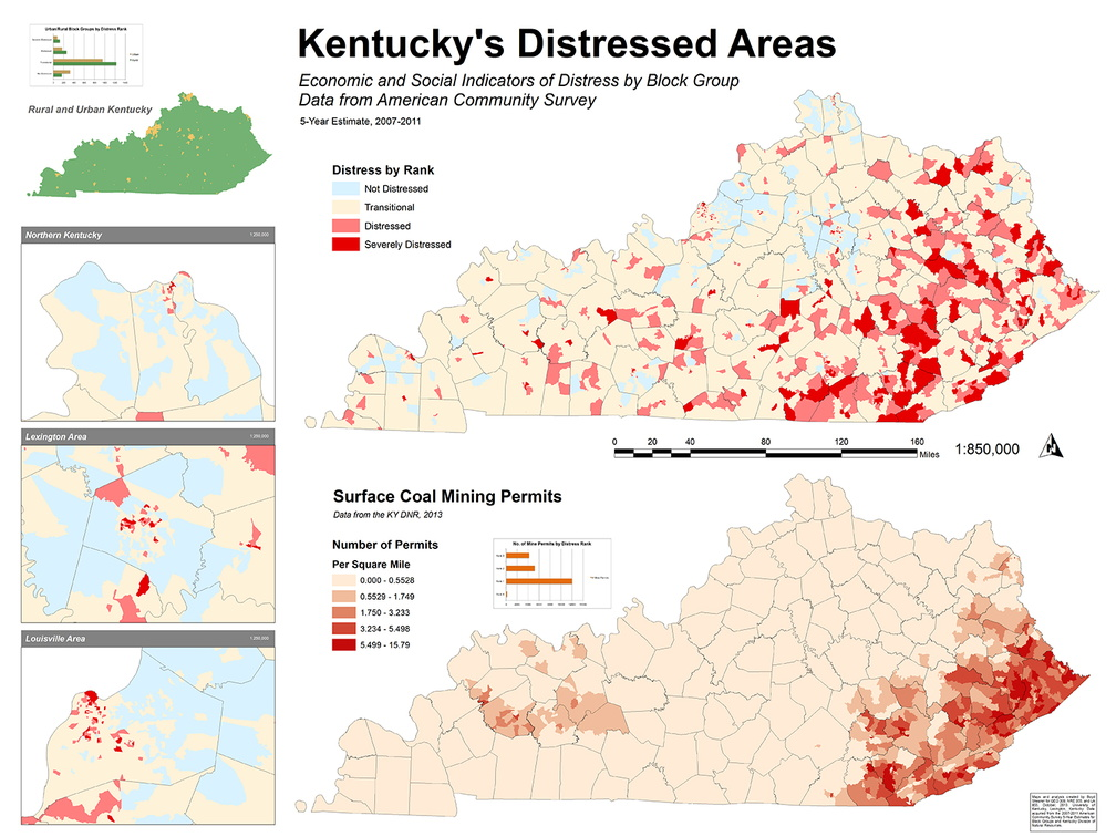 Kentucky's Distressed Areas