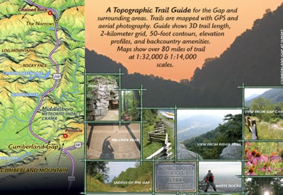 Images of The Cumberland Gap Trail Map