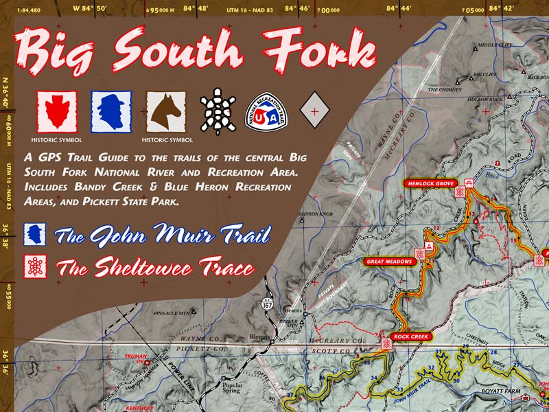 100 Trails of the Big South Fork: Tennessee
