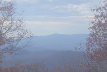 Current webcam for Joyce Kilmer Slickrock Wilderness, North Carolina.
