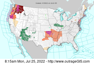 Downloading US National Weather Service Map of Watches & Warnings
